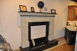 Showroom-fireplace-display